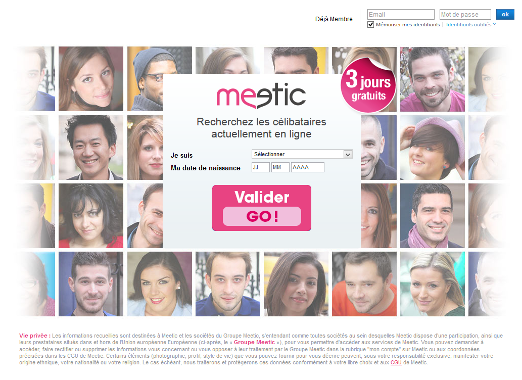 Msn rencontres meetic