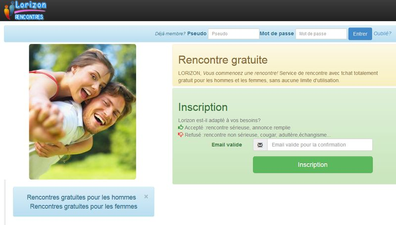 Site de rencontre gratuit non payant international