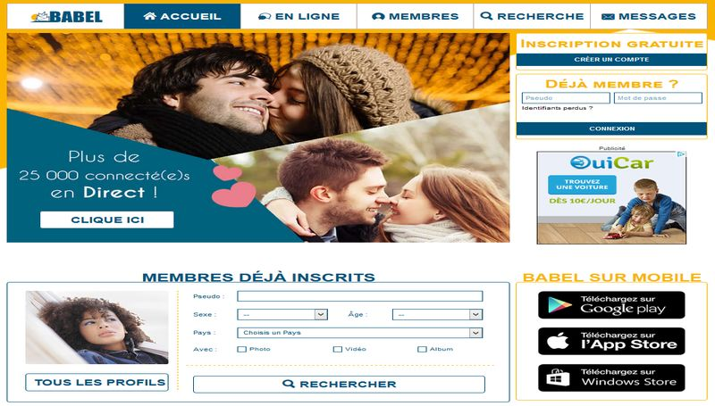 sites gratuit de rencontre rencontr